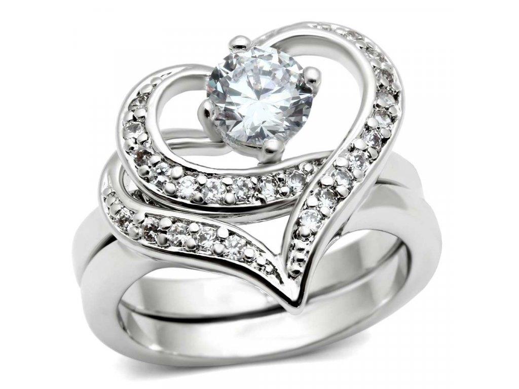 damsky prsten s krystalmi bs3 220