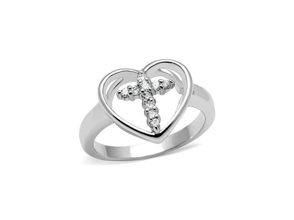 damsky prsten s krystalmi bs3 046