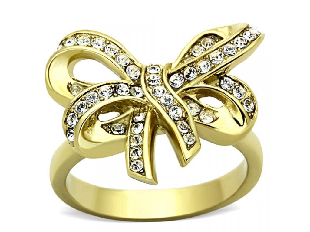 zlaty ocelovy prsten sr1108