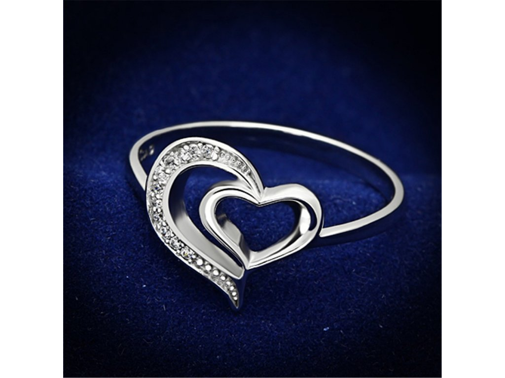 strieborny prsten so zirkonmi str093