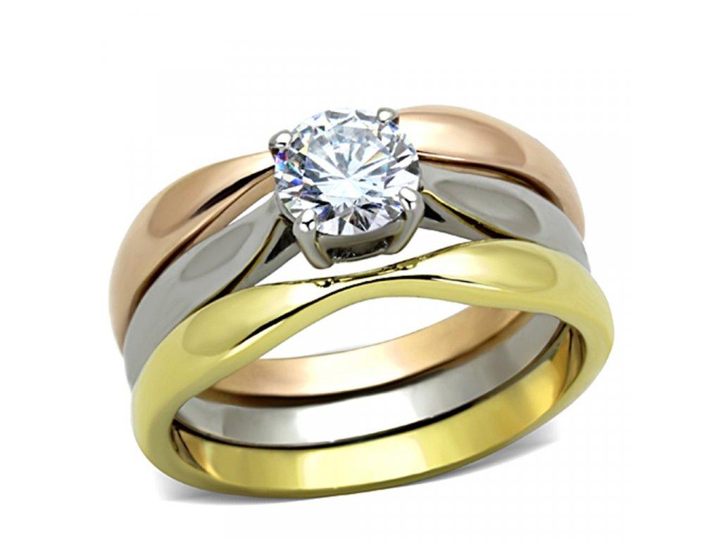 ocelovy prsten so zirkonom sr1278