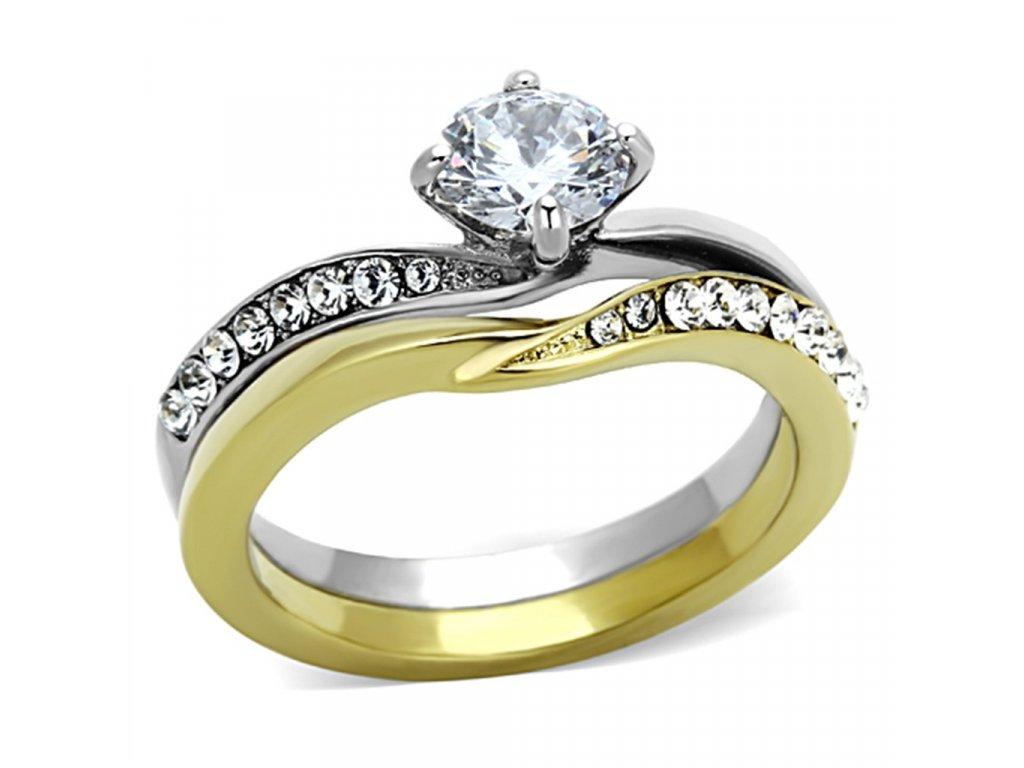 ocelovy prsten so zirkonom sr1280