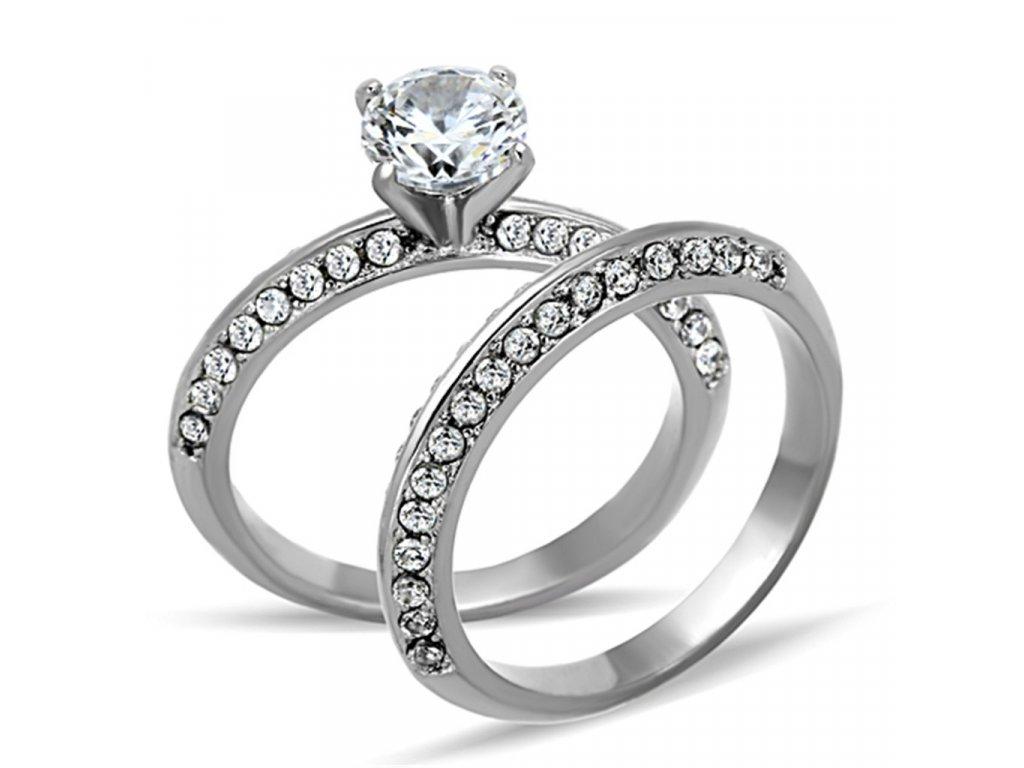 ocelovy prsten so zirkonom sr1320