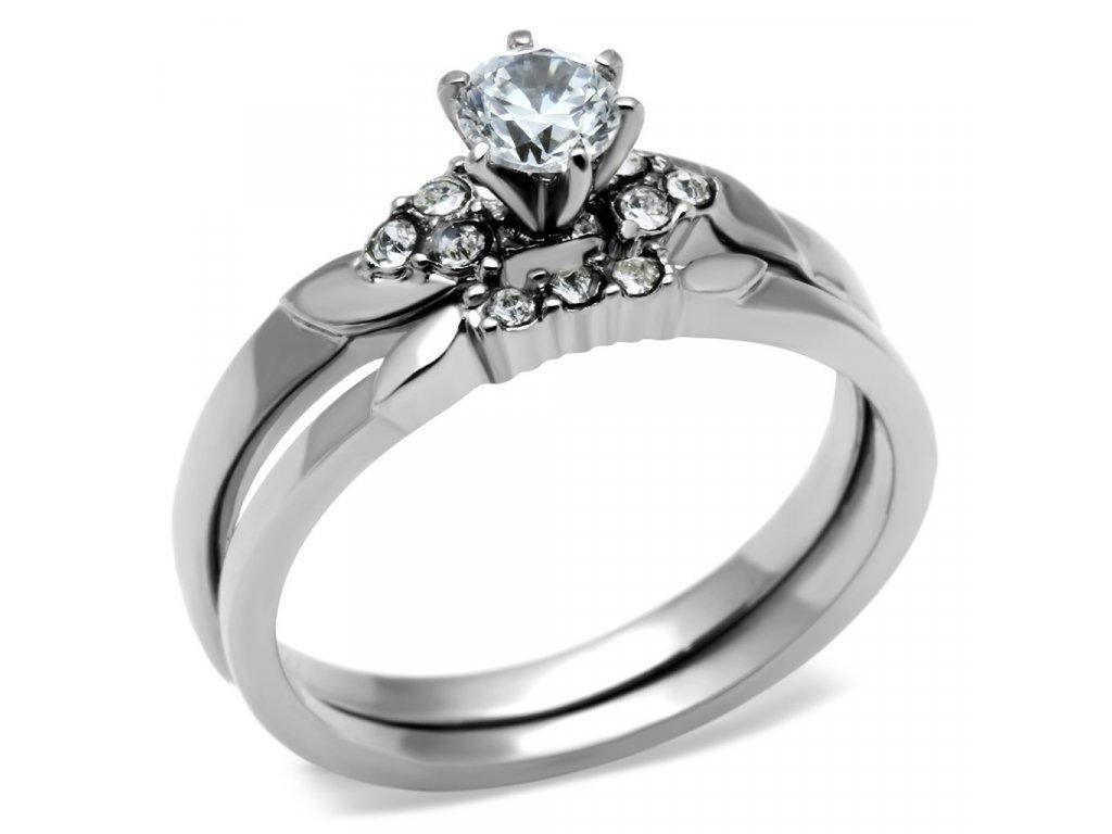 ocelovy prsten so zirkonmi sr0694