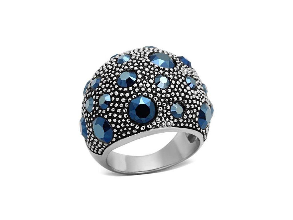 ocelovy prsten krystal sr1310