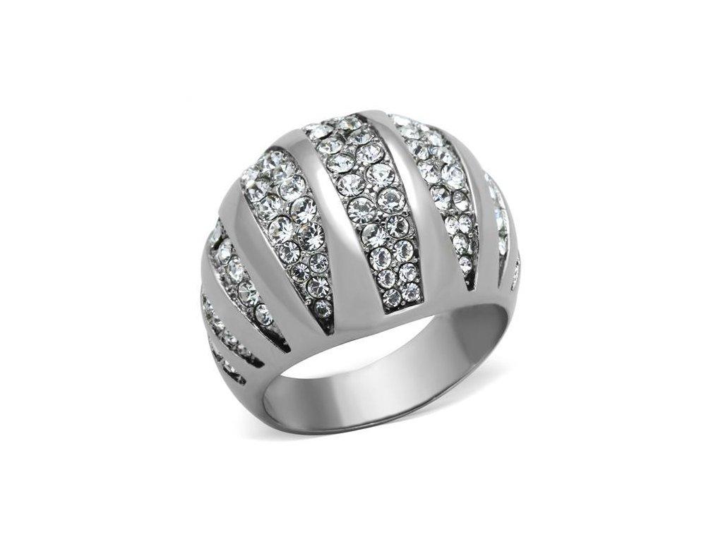 ocelovy prsten koktejlovy sr1430