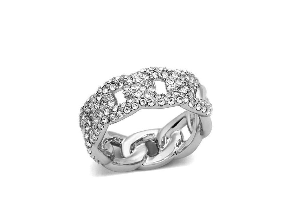 prsten strieborny bs3210