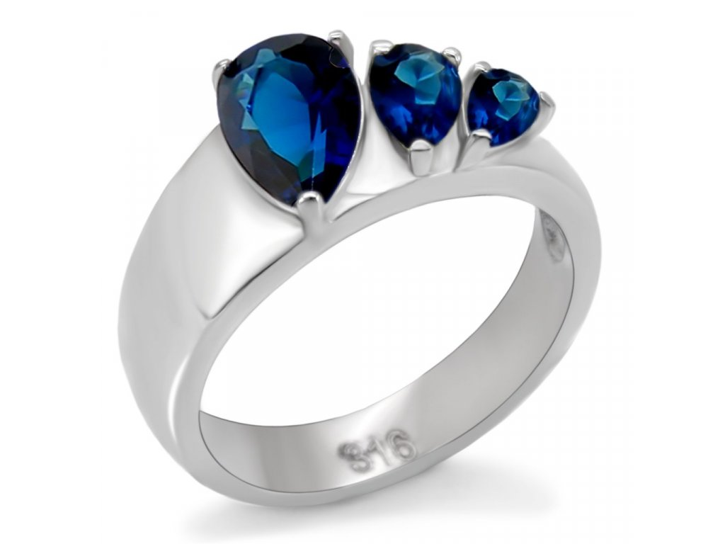 damsky ocelovy prsten sr0511