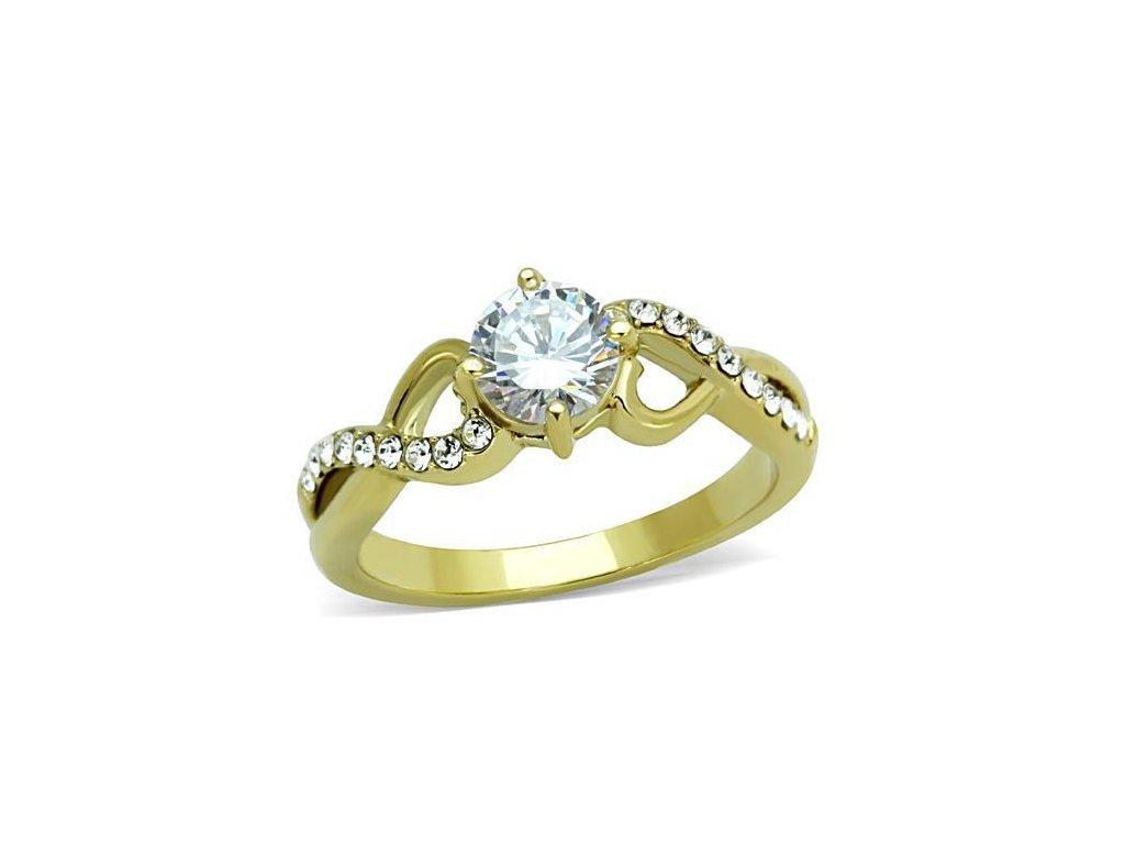 ocelovy prsten so zirkonom sr1722