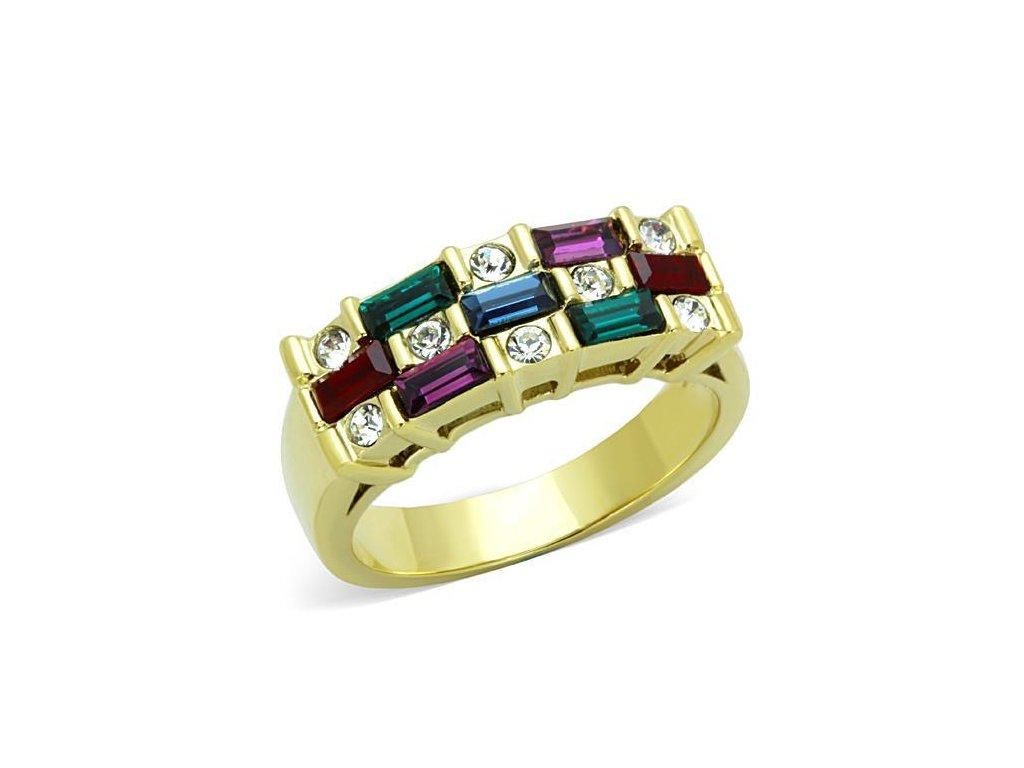 ocelovy prsten krystal sr1719