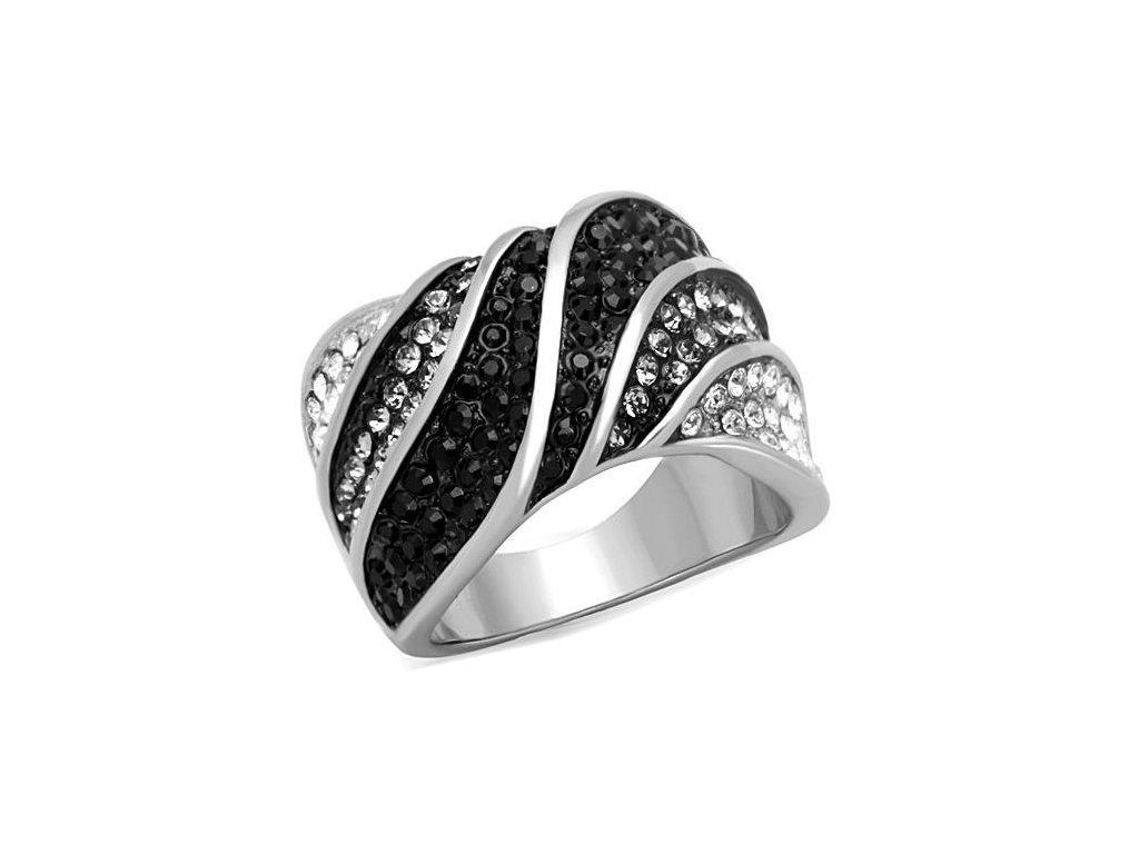 ocelovy prsten koktejlovy sr1688
