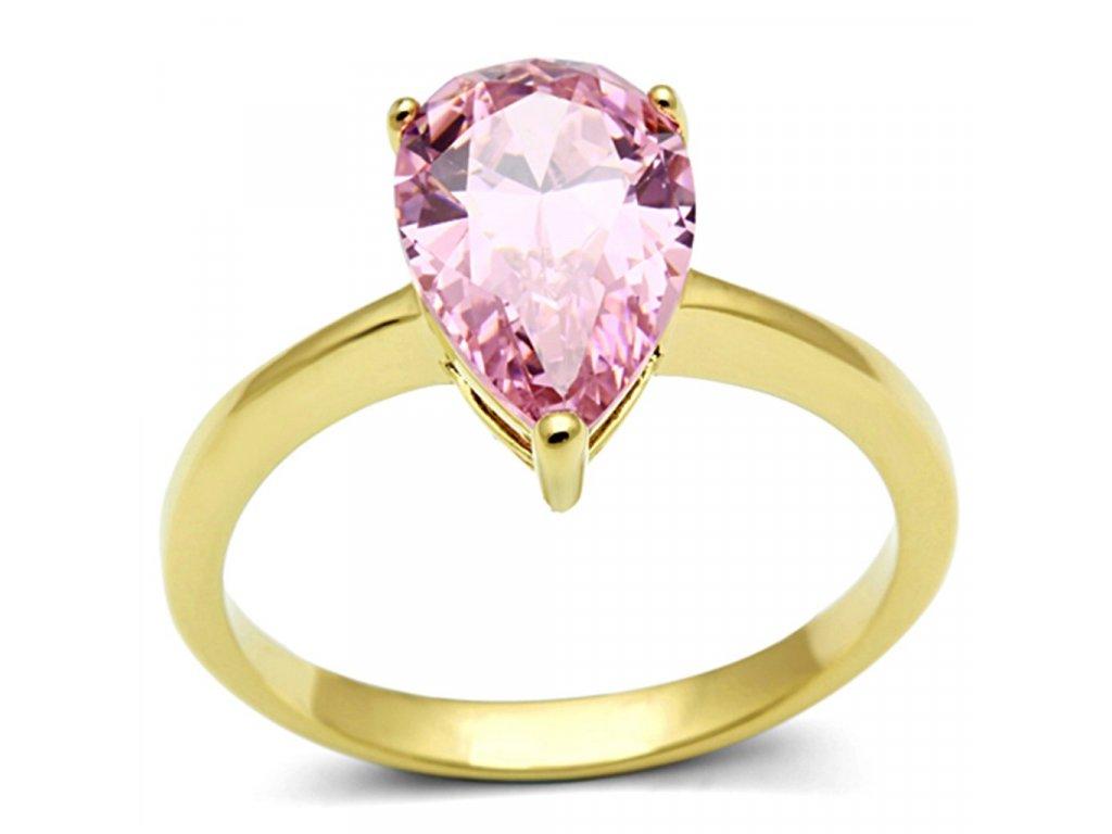ocelovy prsten so zirkonom sr1508