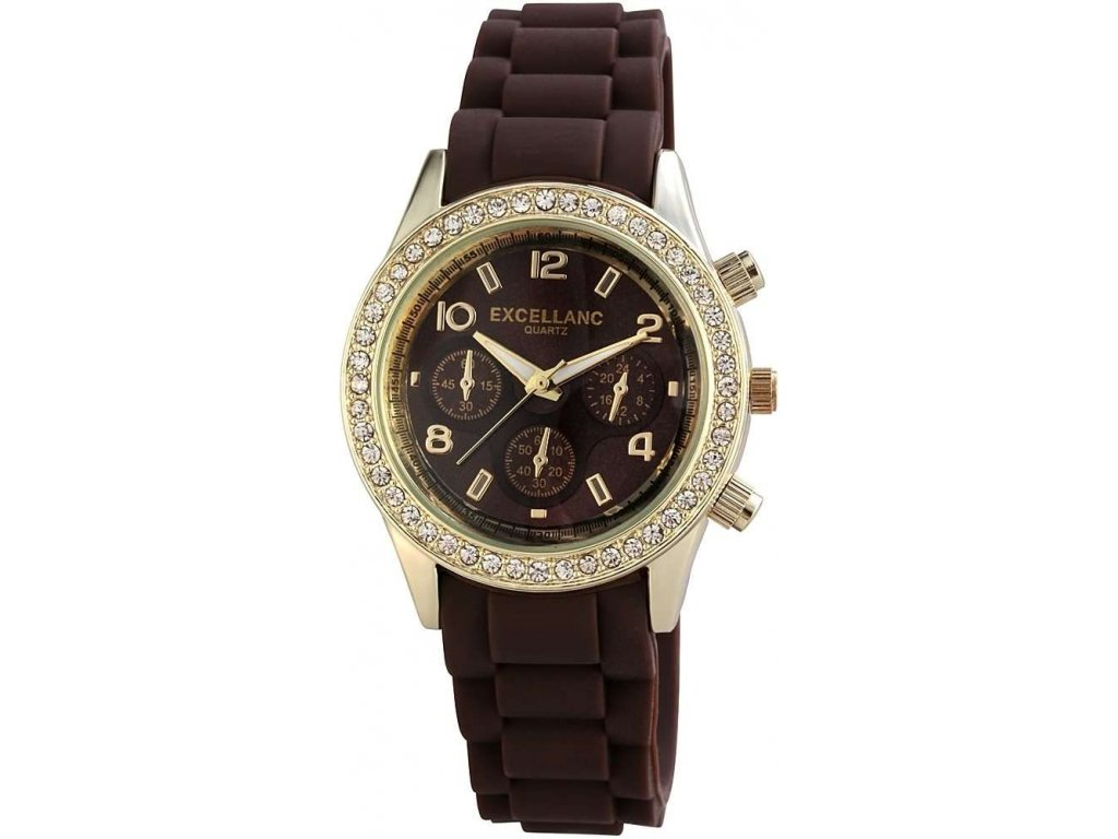 damske silikonove hodinky excellanc
