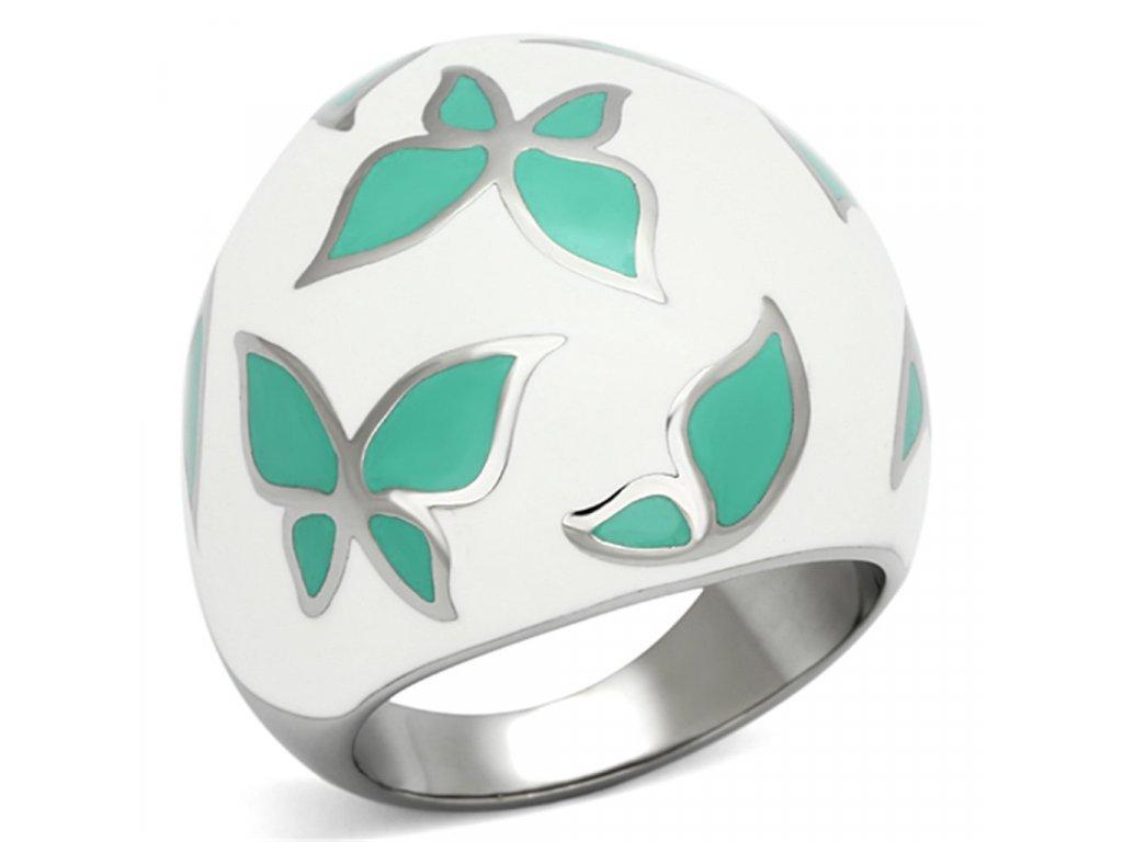 motyl ocelovy prsten sr1137