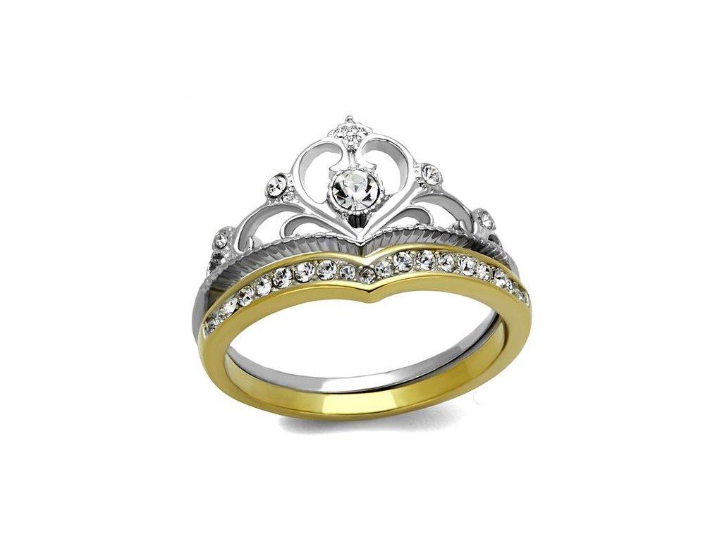 damsky ocelovy prsten sr2294