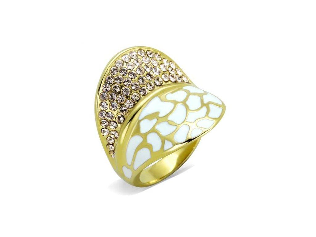zlaty ocelovy prsten sr1851