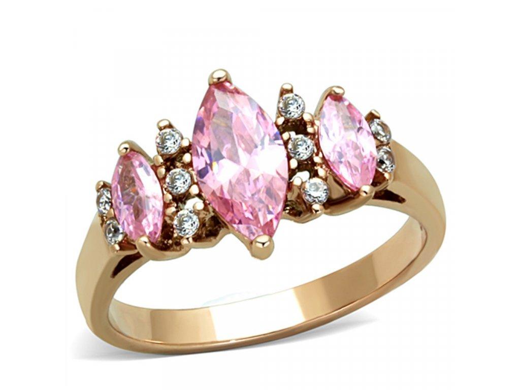 zlaty ocelovy prsten sr1576