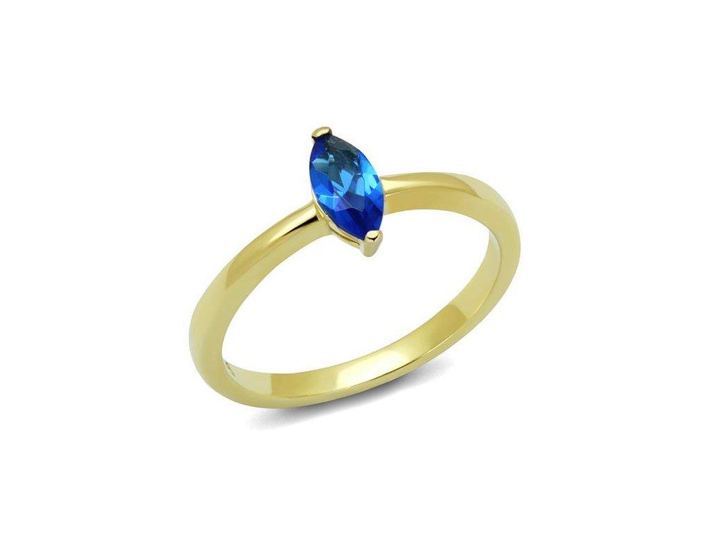 zlaty ocelovy prsten sr2976