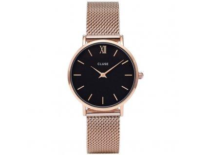 damske hodinky CL30016 Minuit Mesh rose gold