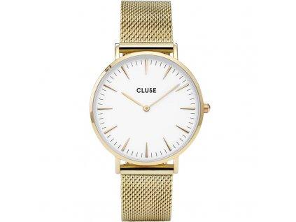cluse boheme mesh gold cl18109