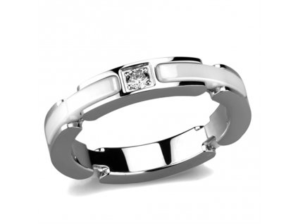 ocelovy keramicky prsten cer963