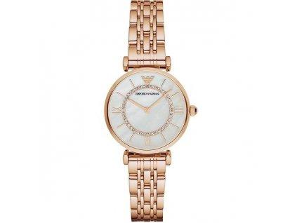 ar1909 damske hodinky emporio armani ružove zlate 5
