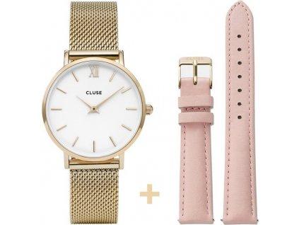 damske hodinky CL30010 Minuit Mesh Pink CL30020