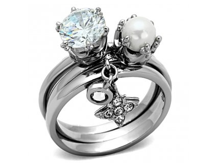 damsky ocelovy prsten sr1497