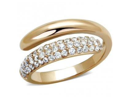 zlaty ocelovy prsten sr1634
