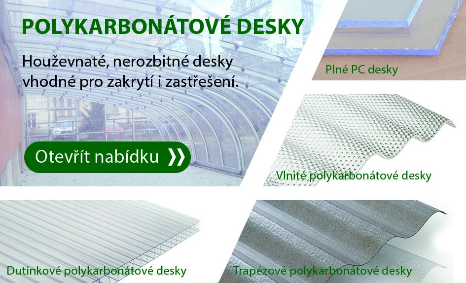 Polykarbonátové desky