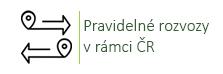 Pravidelné rozvozy v rámci ČR