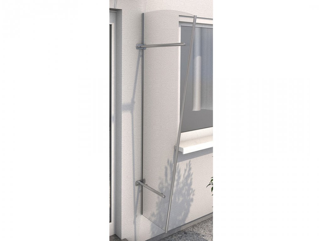 Vchodová stříška Guttavordach PT/ET akryl (boční stěna)