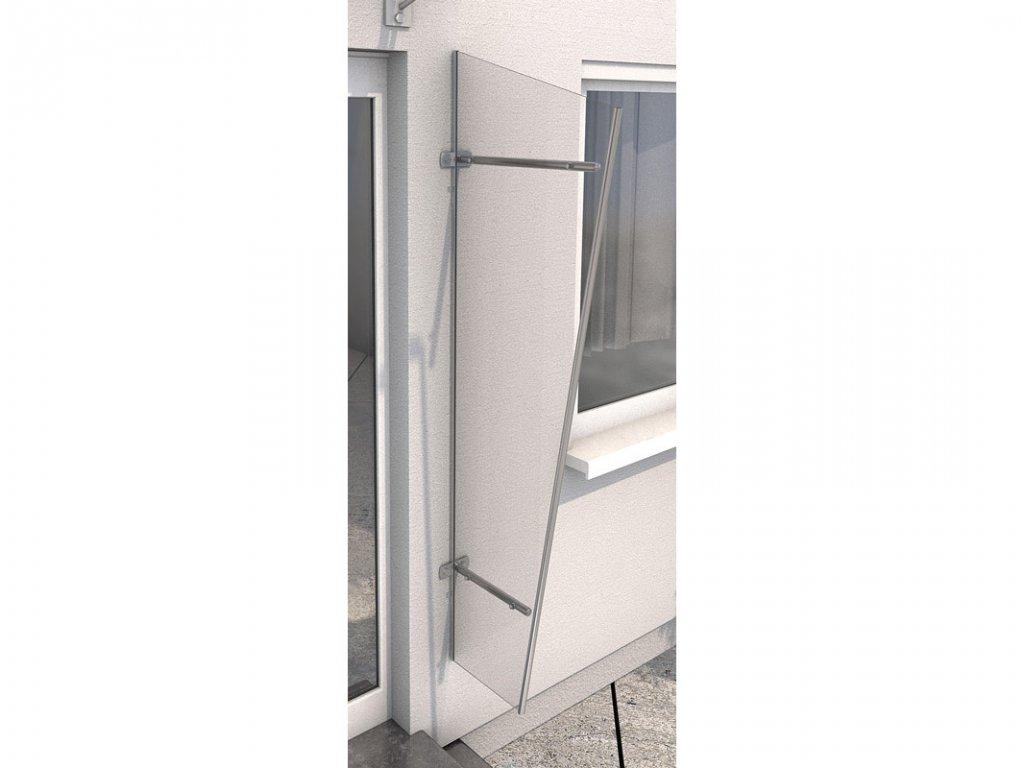 Vchodová stříška Guttavordach PT/GR  akryl (boční stěna)
