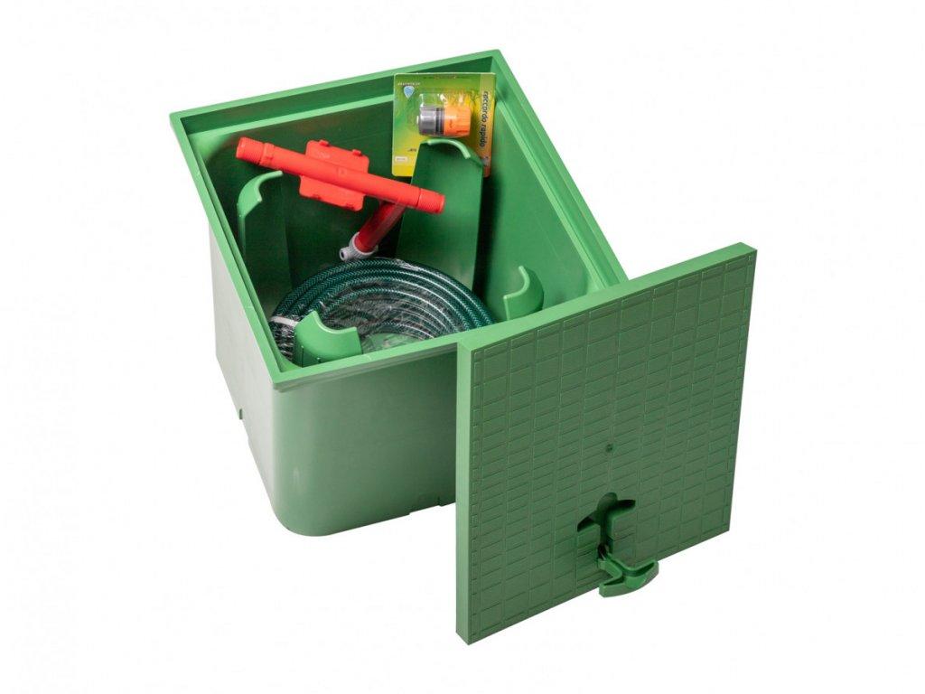 Šachta pro zahradní hadici Pipe Cube