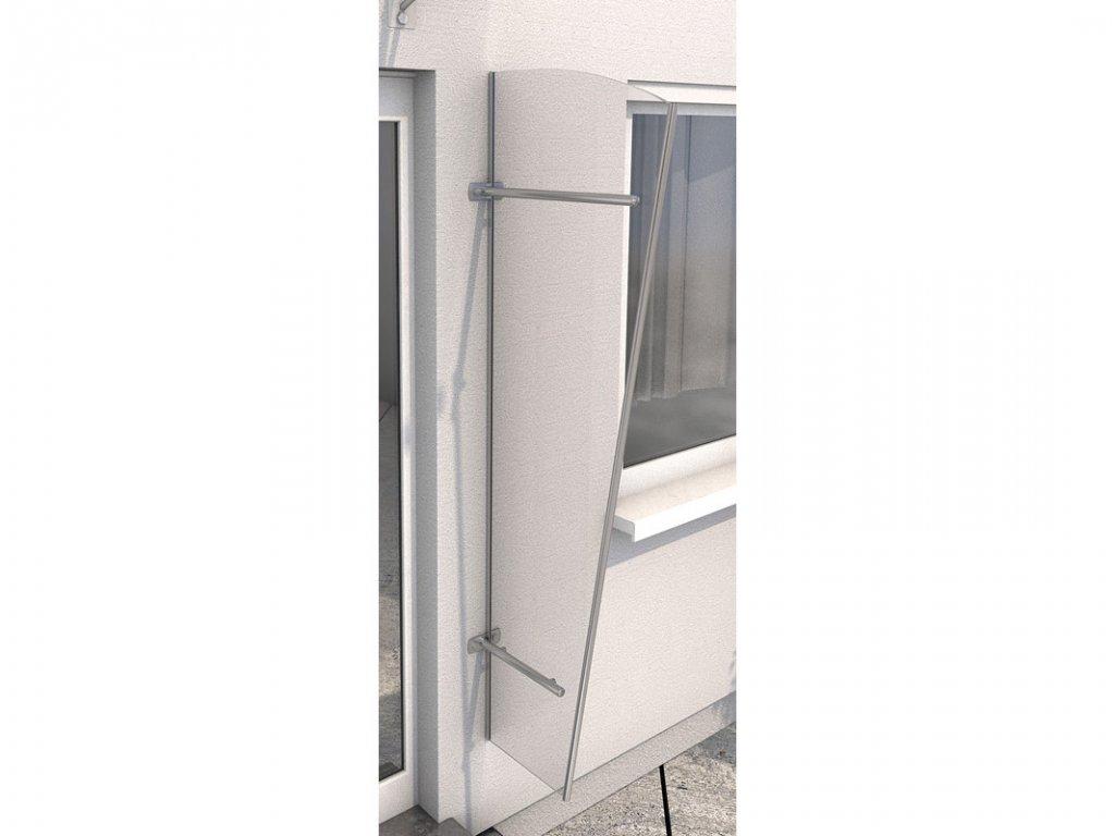 Vchodová stříška Guttavordach PT/L akryl (boční stěna)