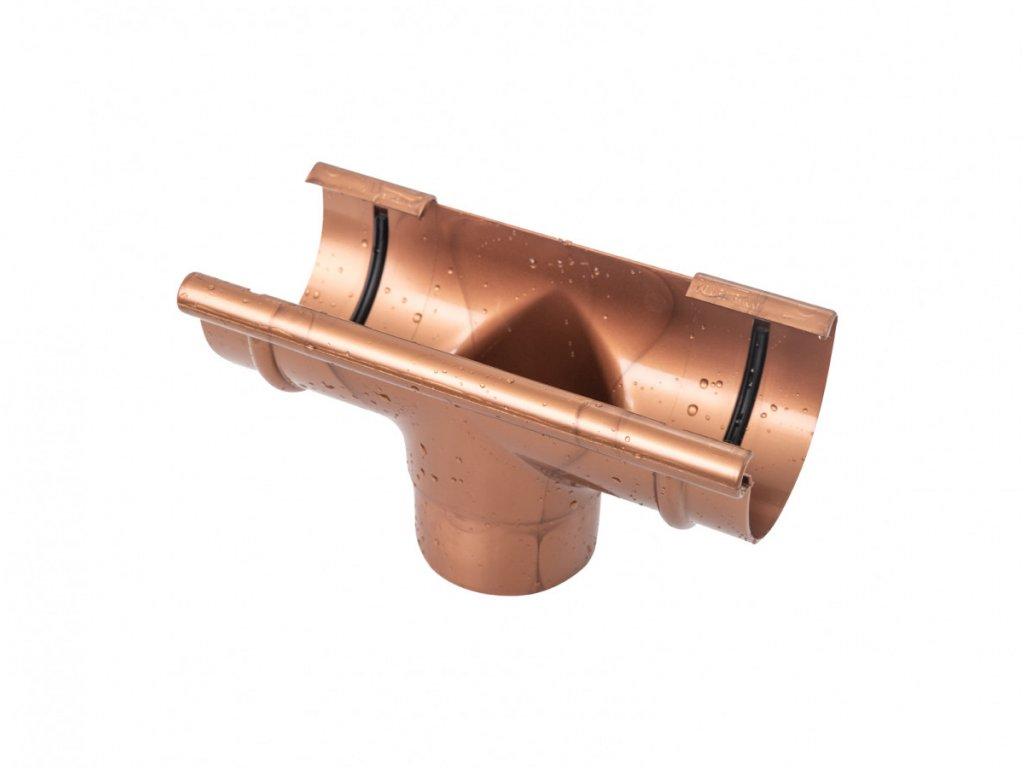 Plastový žlabový kotlík GMT 125 / 90 mm