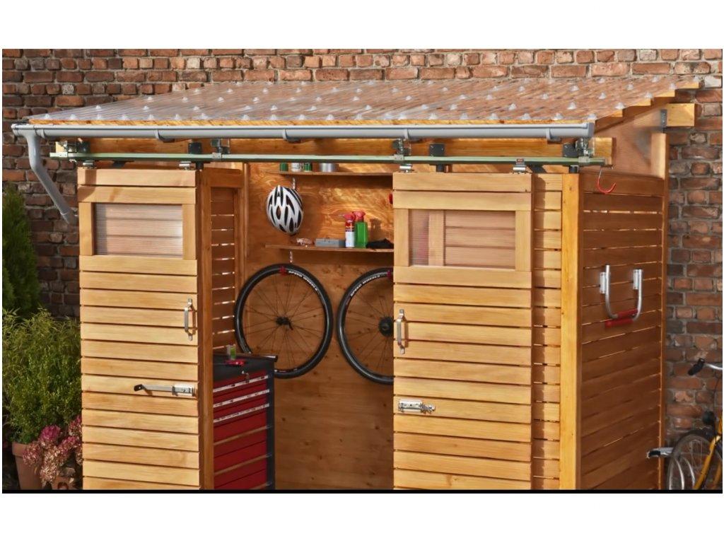 Polyvinylchloridová vlnitá deska PVC vlna