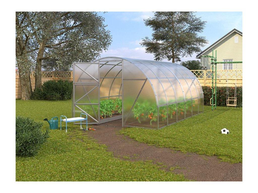 Zahradní skleník z polykarbonátu SL (prodloužení)