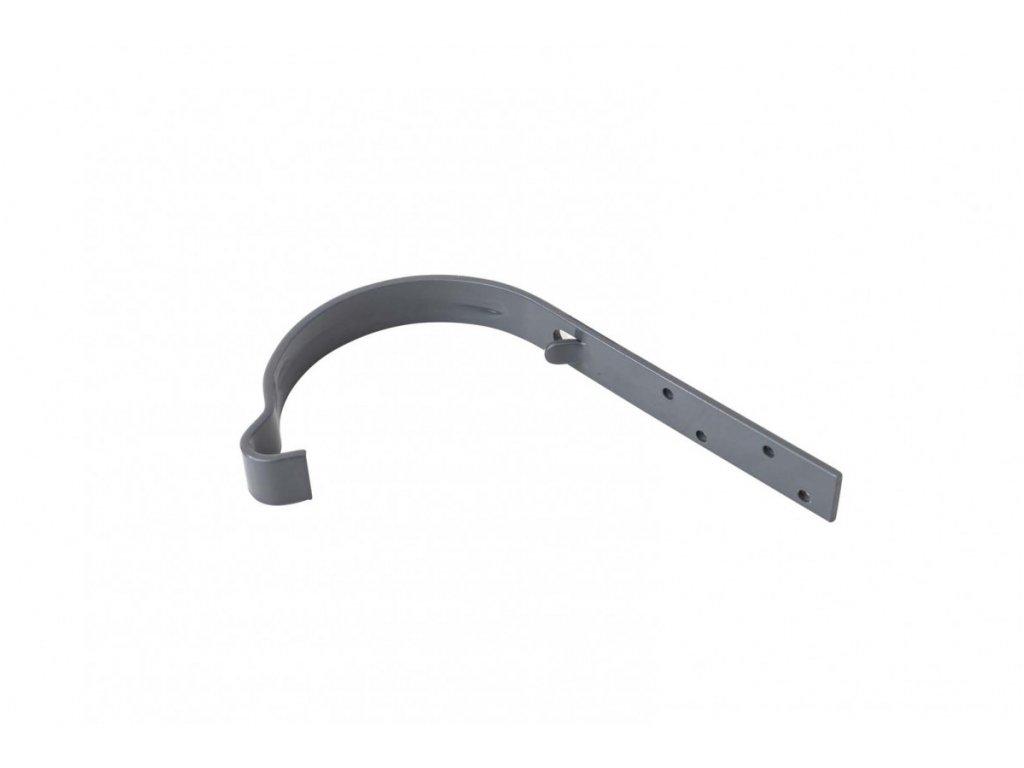 Barevný žlabový hák 125 mm