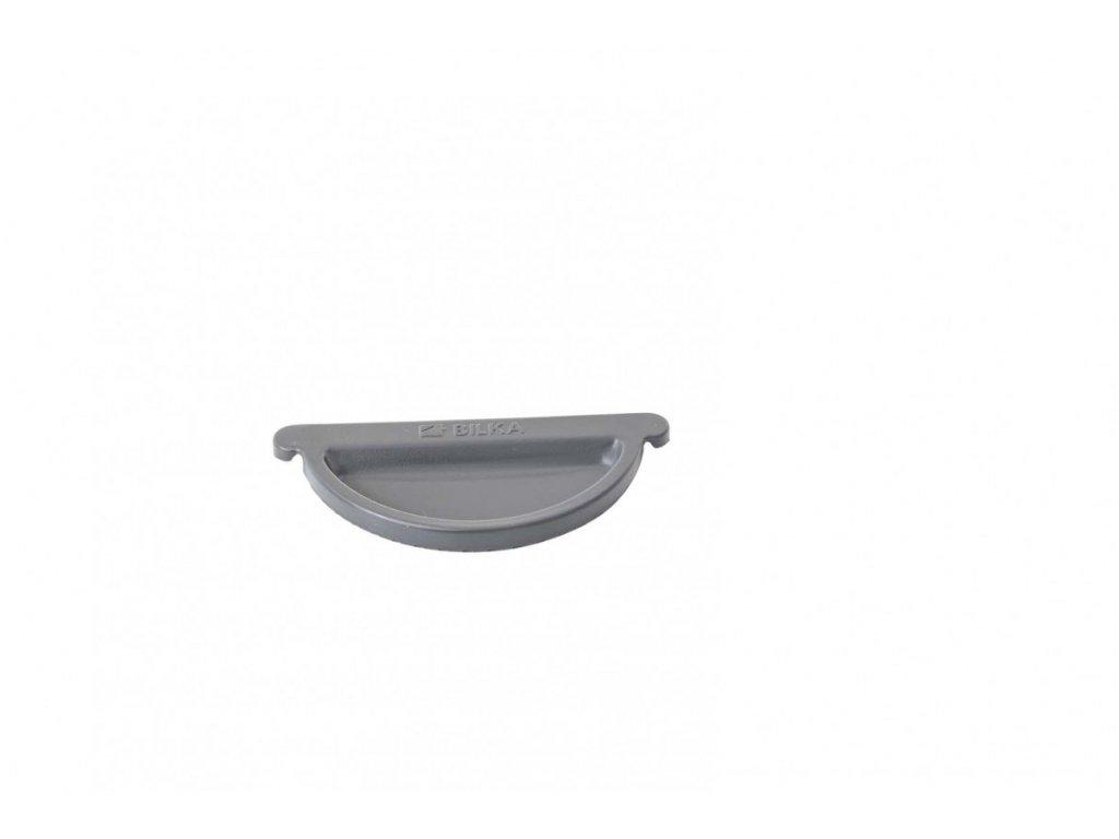 Barevná koncovka okapového žlabu 125 mm