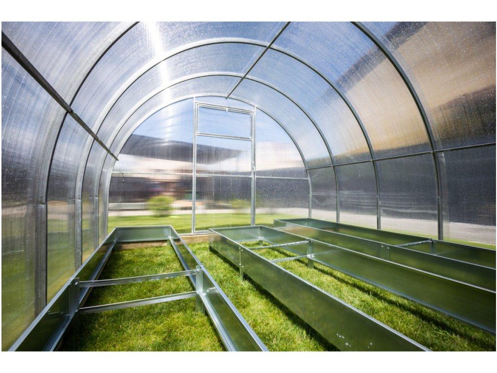 Zahradní skleník z polykarbonátu Gardentec Herbus