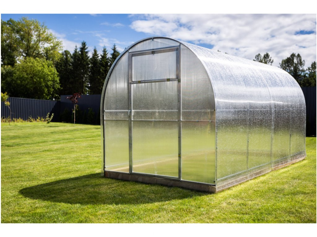 Zahradní skleník z polykarbonátu Gardentec Simplex