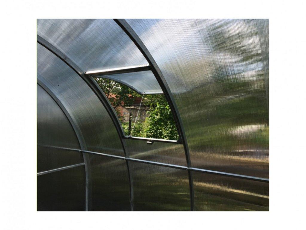 Větrací okno pro zahradní skleník Herbus a Simplex