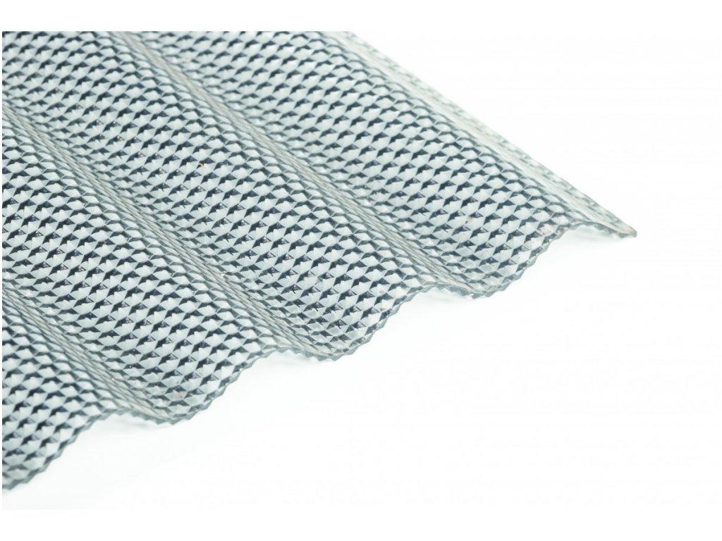 Polykarbonátová vlnitá deska Guttagliss WABE - šedá