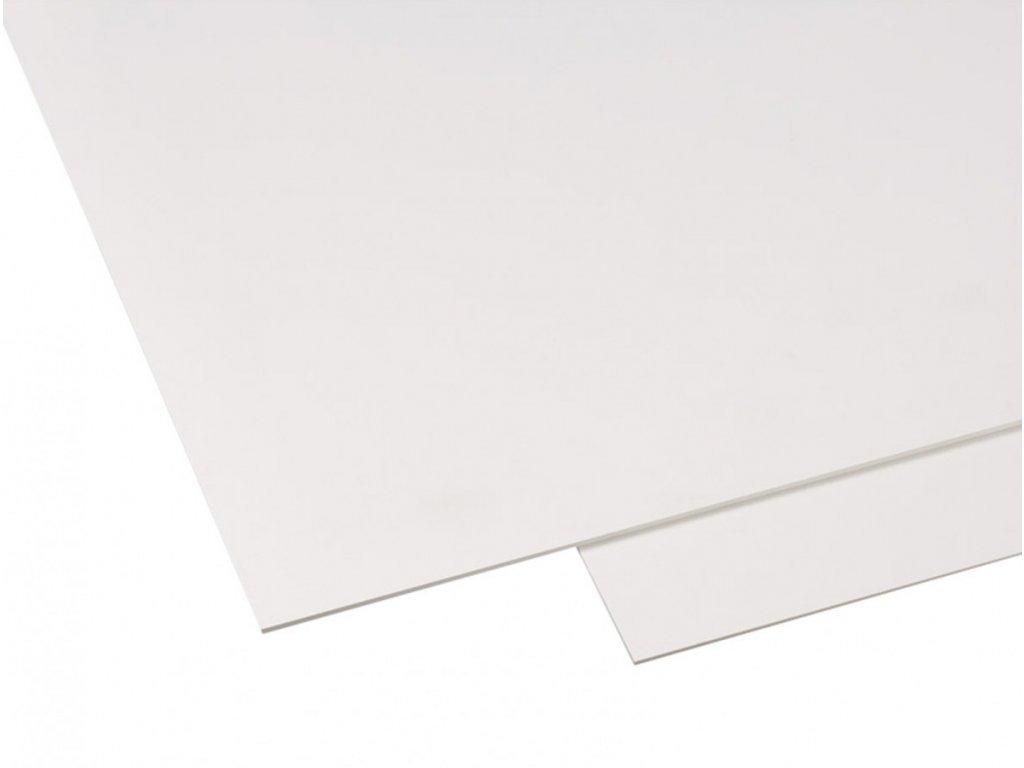 Polyvinylchlorid Hobbycolor 3 mm - bílá