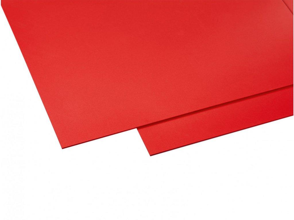 Polyvinylchlorid Hobbycolor 3 mm - červená