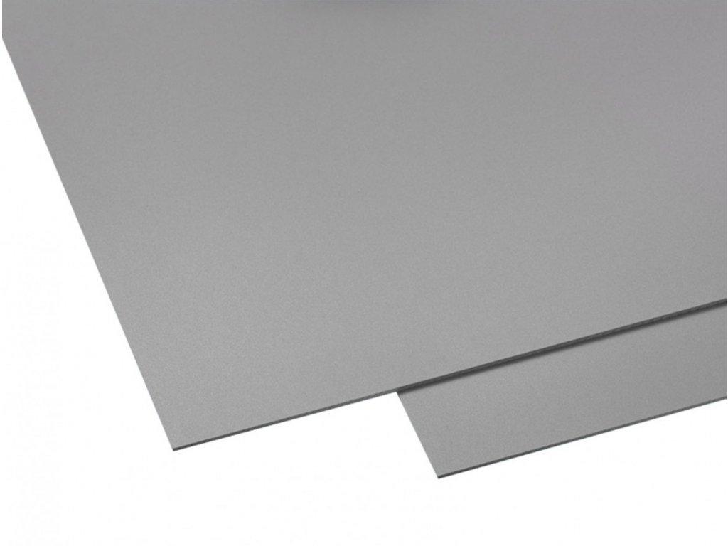 Polyvinylchlorid Hobbycolor 3 mm - šedá