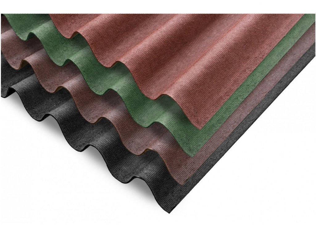 Bitumenová vlnitá deska Guttanit 11 Natur Color