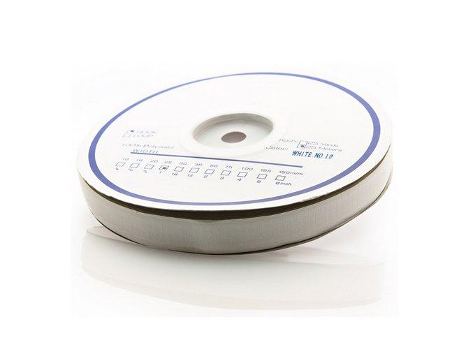 Samolepicí suchý zip (háčky) bílý