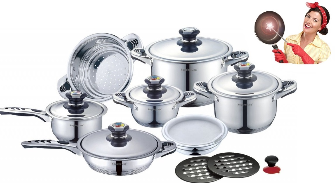 Desatero pro správnou péči o nerezové nádobí